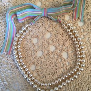 Jewelry - Double Strand of Faux Pearls